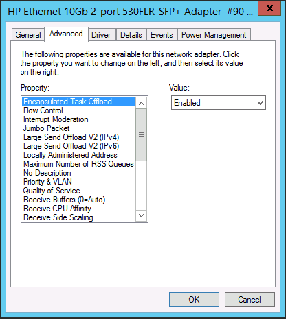 Advanced Driver Settings