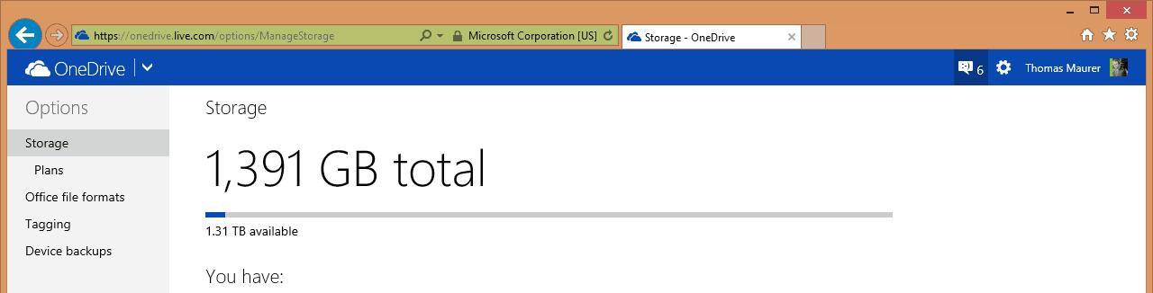 OneDrive 1TB