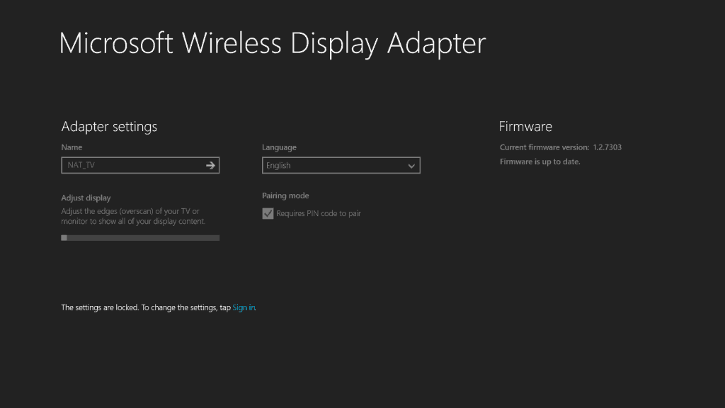Microsoft Wireless Display Adapter App