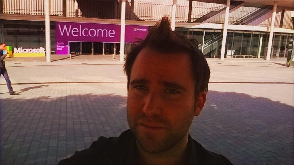 TechEd Barcelona Selfie
