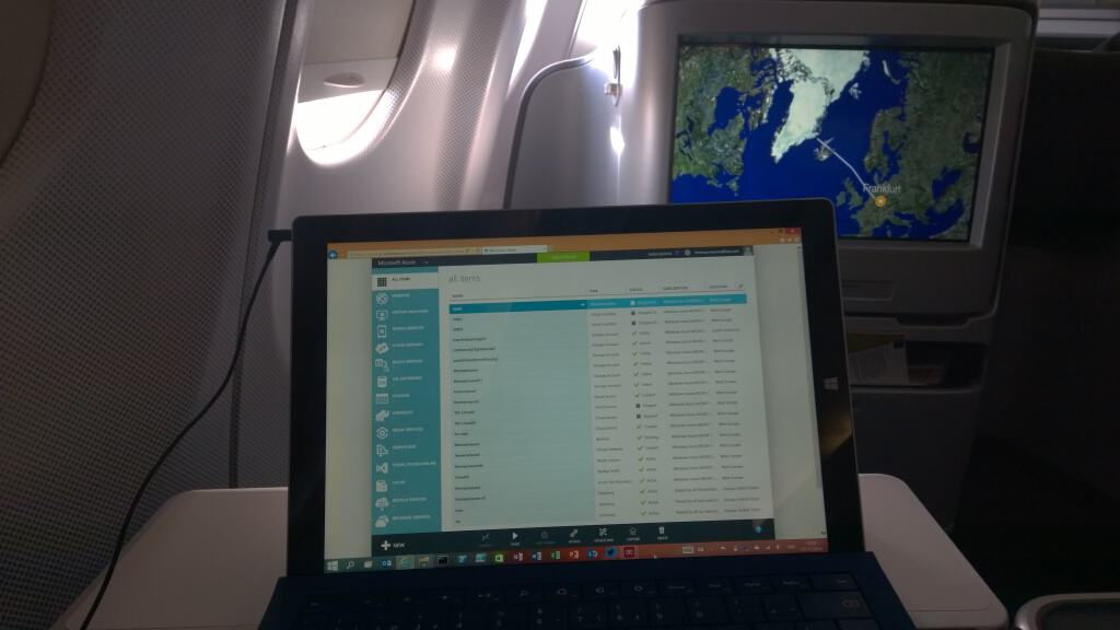 Microsoft Azure Surface Pro Flight