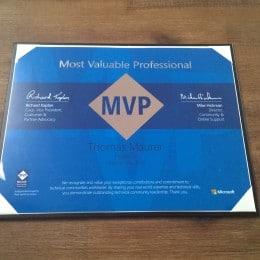 Microsoft MVP 2014