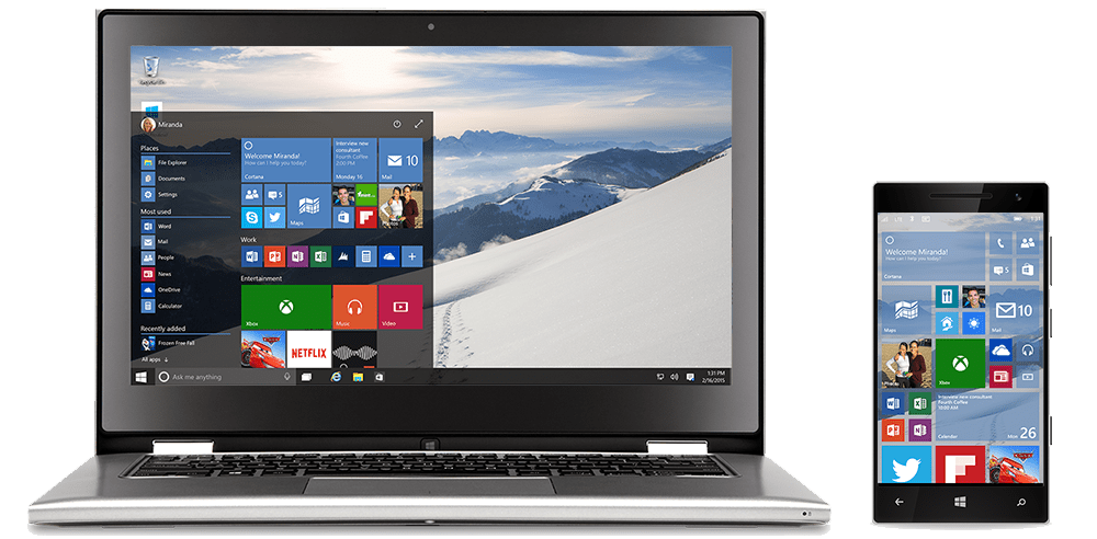 Windows 10 Expierence
