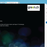 Green Cloud based on Windows Server Hyper-V and Windows Azure Pack