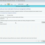 Generation 2 Virtual Machine in Service Templates and Managing Azure IaaS VMs in VMM with UR6