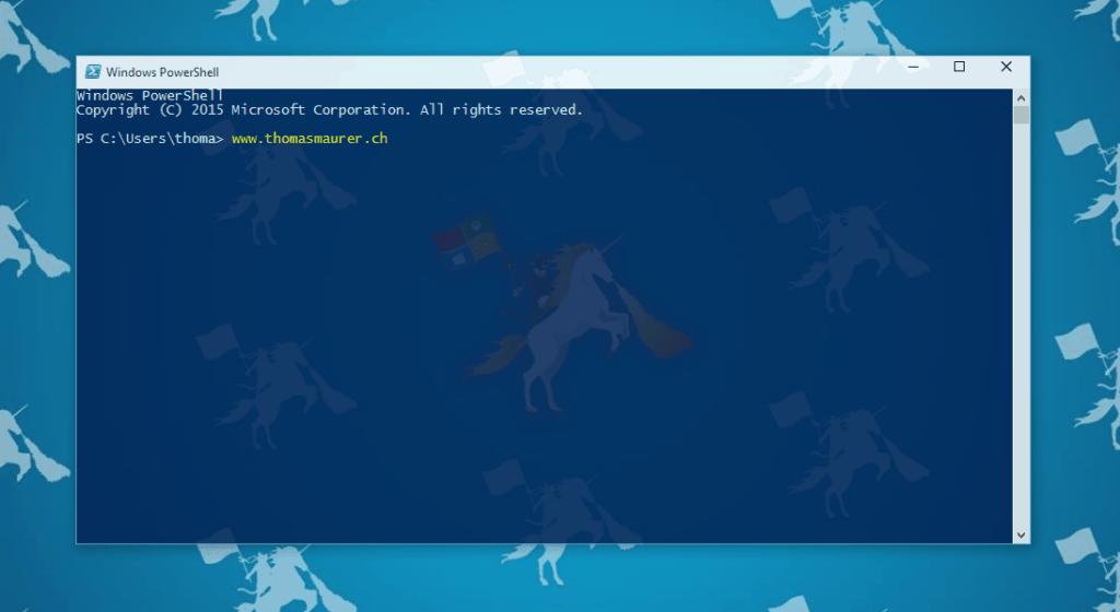 ssh for windows power shell  windows 7