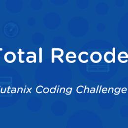 Nutanix Coding Challenge Total Recode
