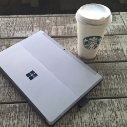 Surface 3 Starbucks