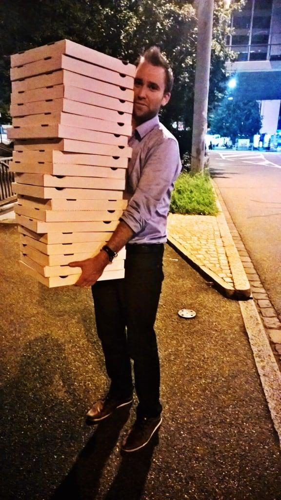 SCU 2015 Pizza
