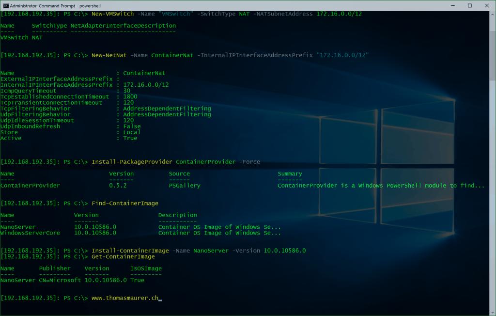 Windows Home Server Setup