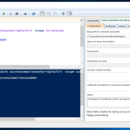 Azure Automation PowerShell ISE Add-on