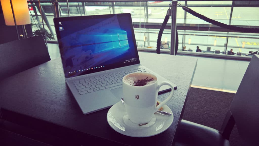 Surface Book Travel