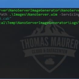 Add Updates to Nano Server Image