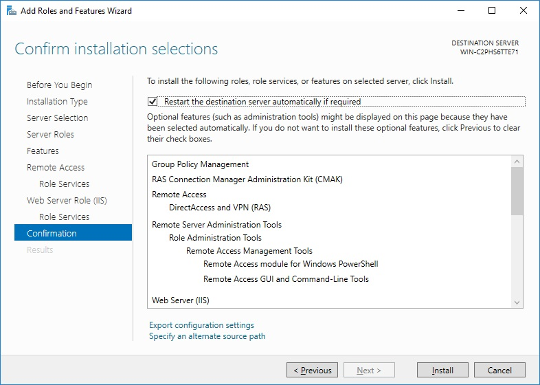 How to Install VPN on Windows Server 2016 - Thomas Maurer