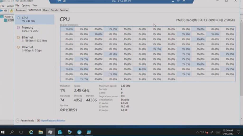 Azure Nested Virtualization Demo