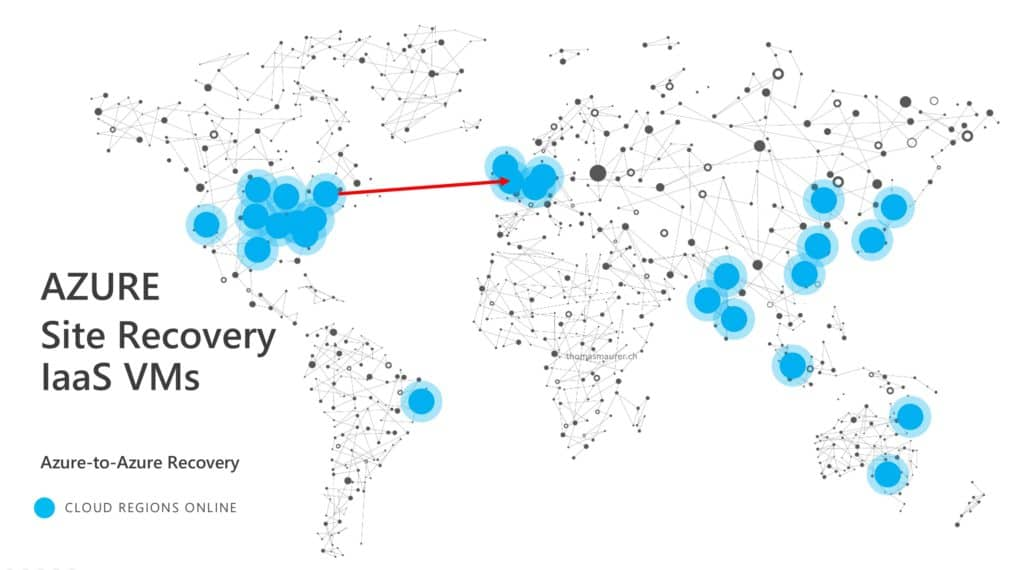 Azure to Azure Site Recovery