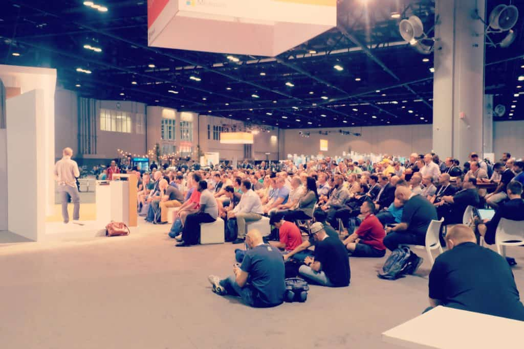Speaking at Microsoft Ignite 2017 Theater