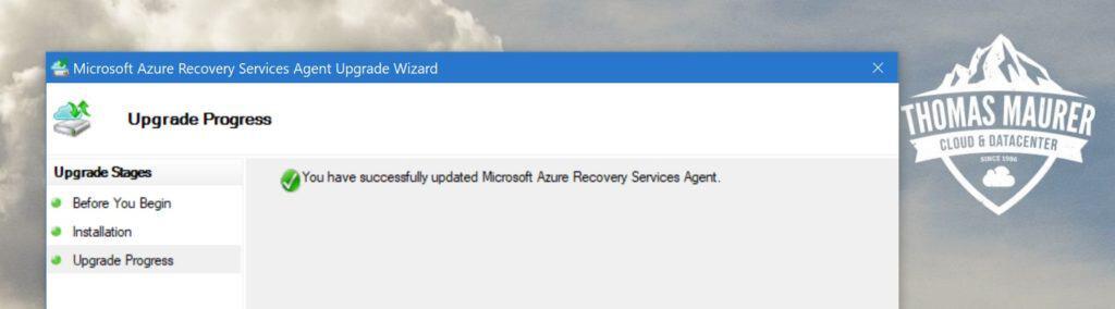Microsoft Azure Backup Agent
