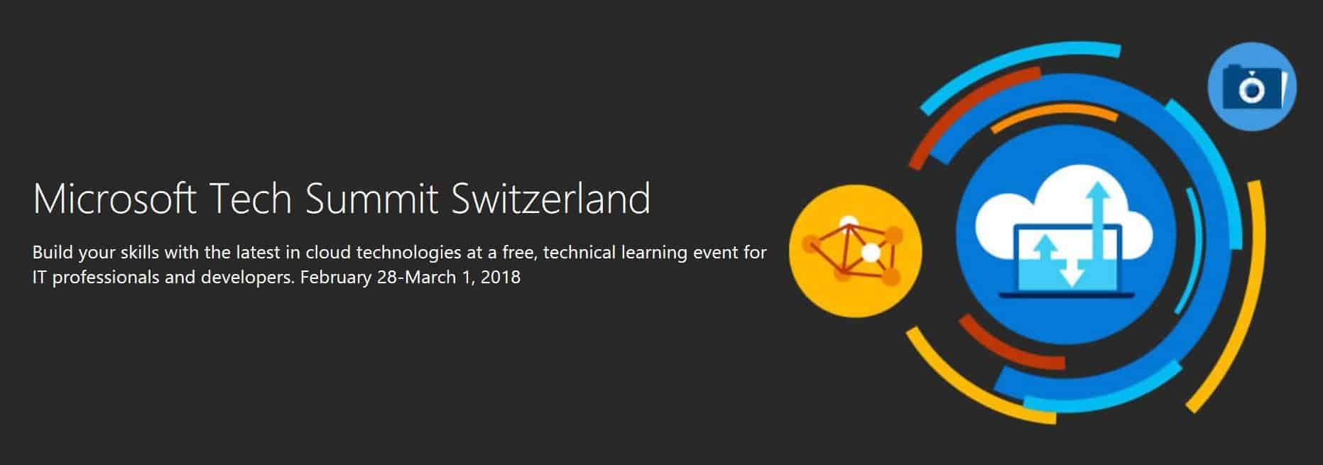 Microsoft Tech Summit 2018 Switzerland