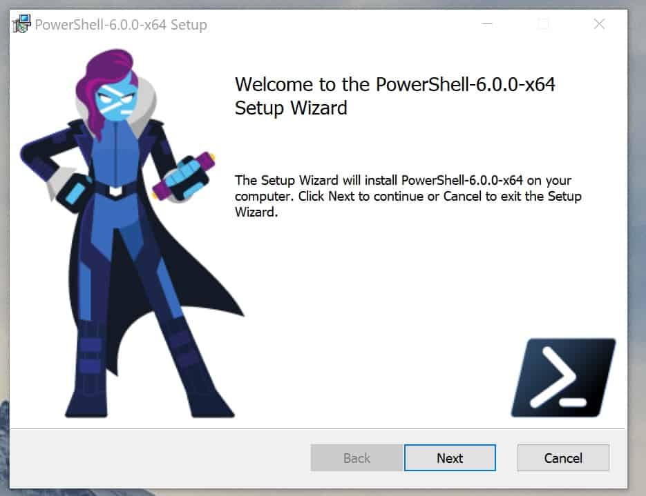 PowerShell Core Installer