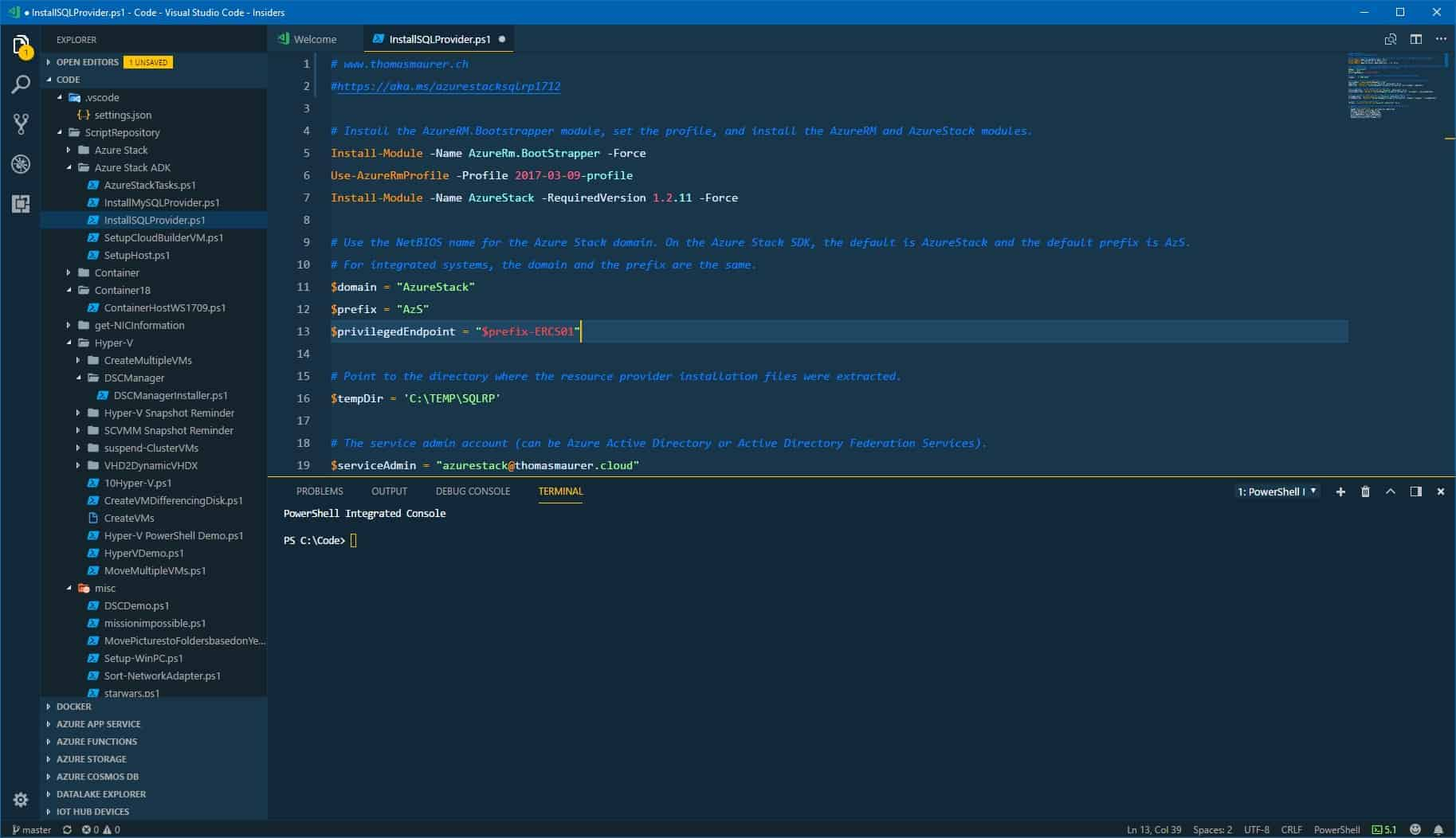 My Favorite Visual Studio Code Themes - Thomas Maurer