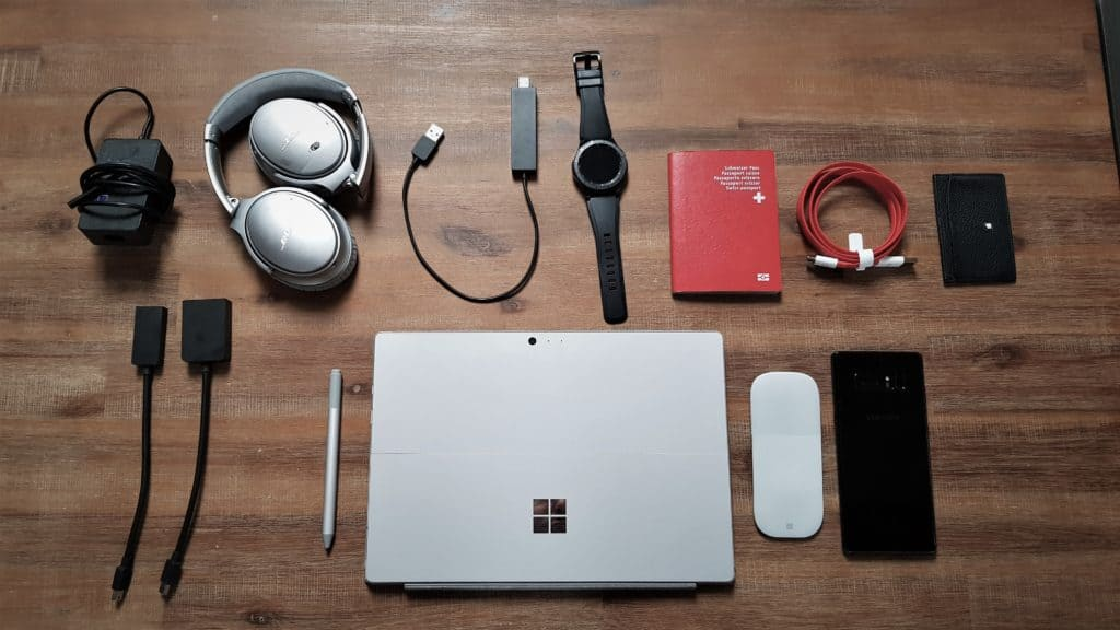 What is in my bag for the Microsoft MVP Summit 2018