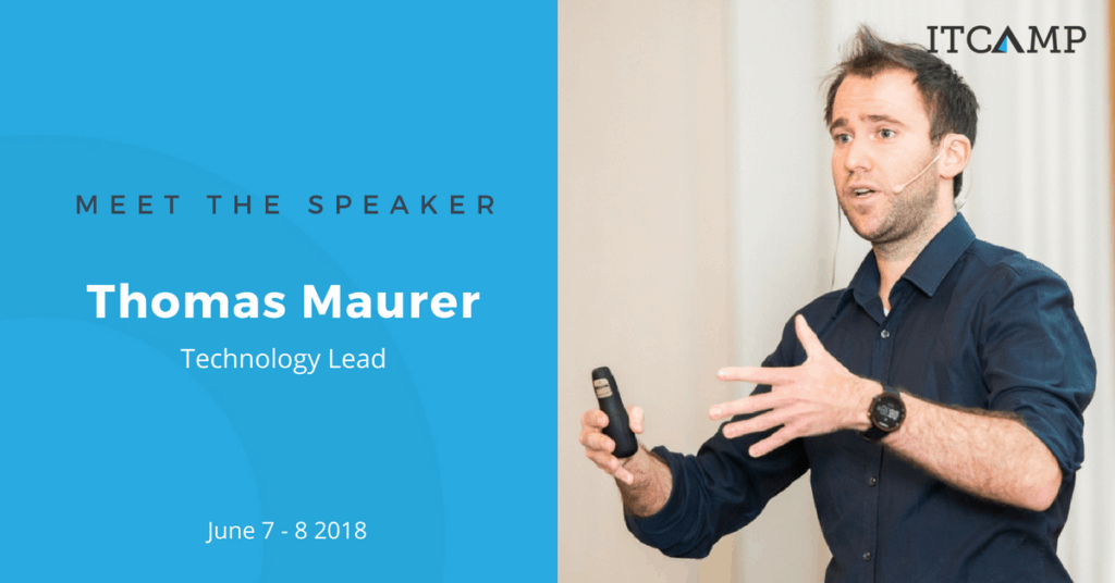 IT Camp 2018 Speaker Thomas Maurer