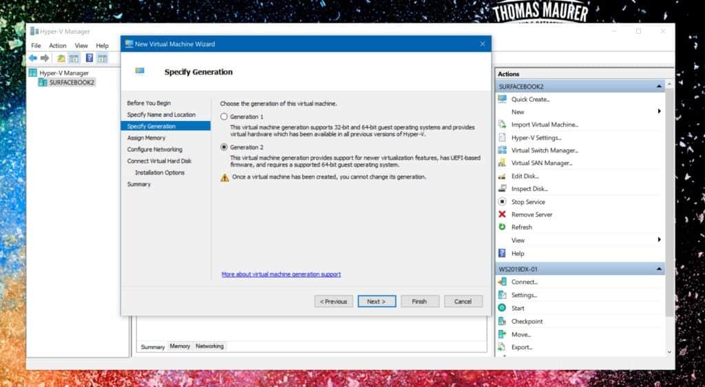 Create Ubuntu Hyper-V Generation 2 VM