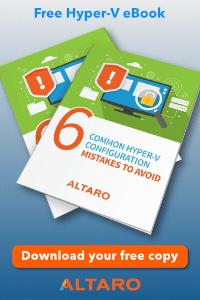 Altaro Hyper-V eBook