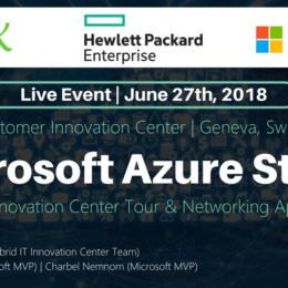 Azure Stack Event HPE Geneva