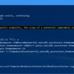 PowerShell Archives - Page 4 of 33 - Thomas Maurer