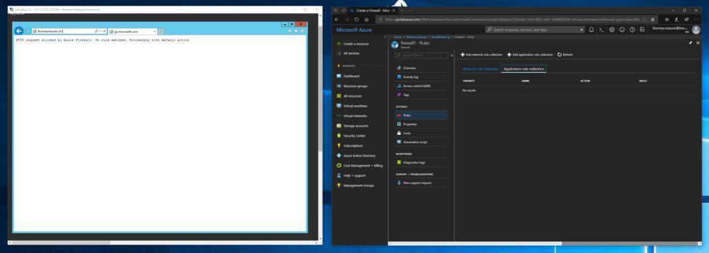 Azure Firewall Setup