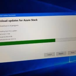 Download Azure Stack Update
