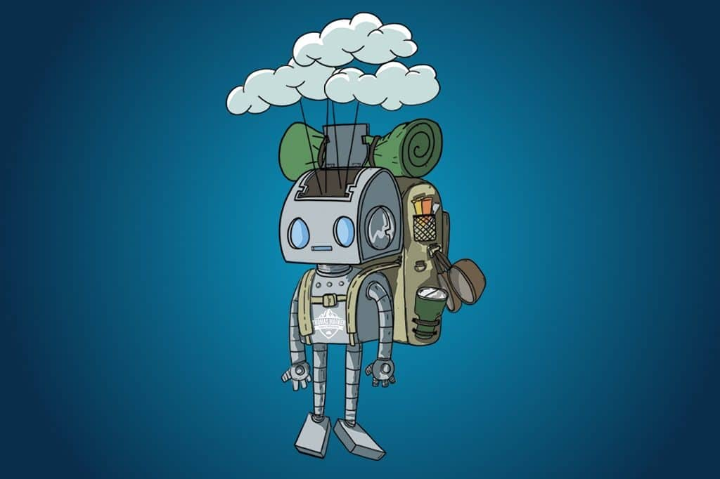 Tommy The Cloud Robot