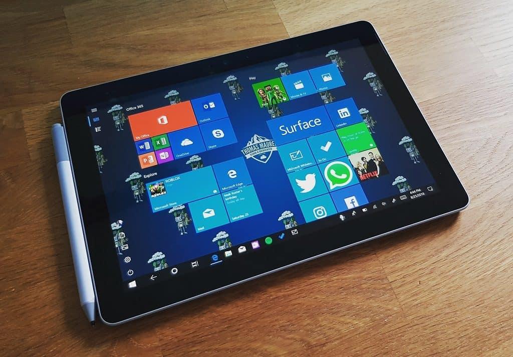 Windows 10 Tablet Surface Go