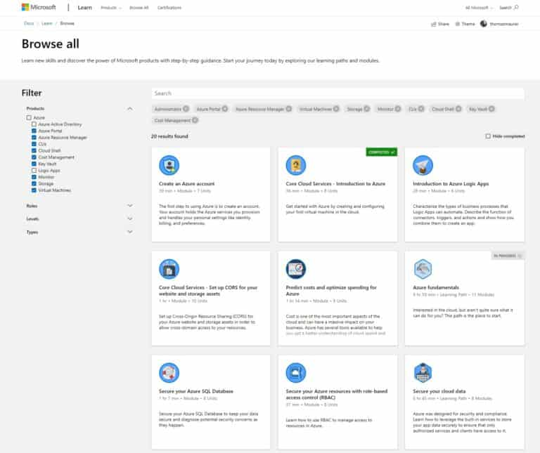 AZ-103 Microsoft Learn Certified Azure Administrator