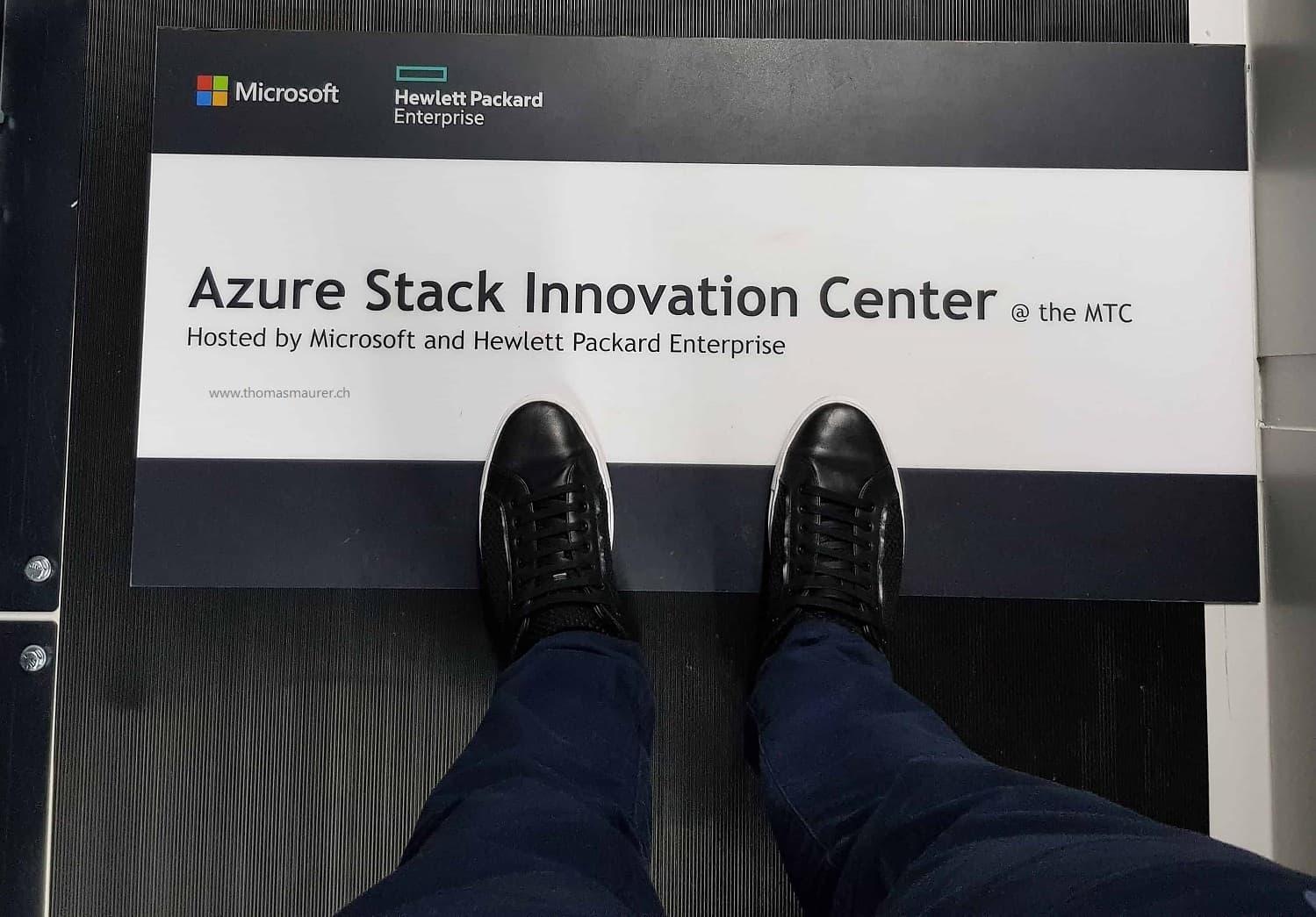 HPE Azure Stack Innovation Center
