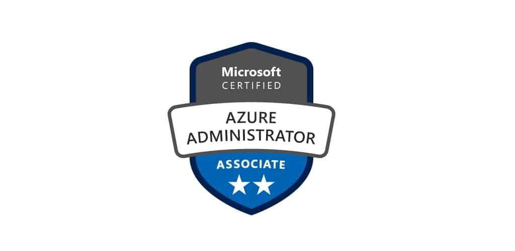 Passed Microsoft Certified Azure Administrator Thomas Maurer