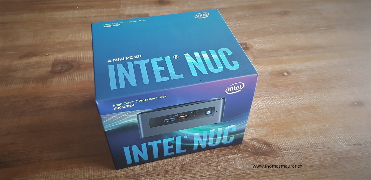 Intel NUC Windows Server