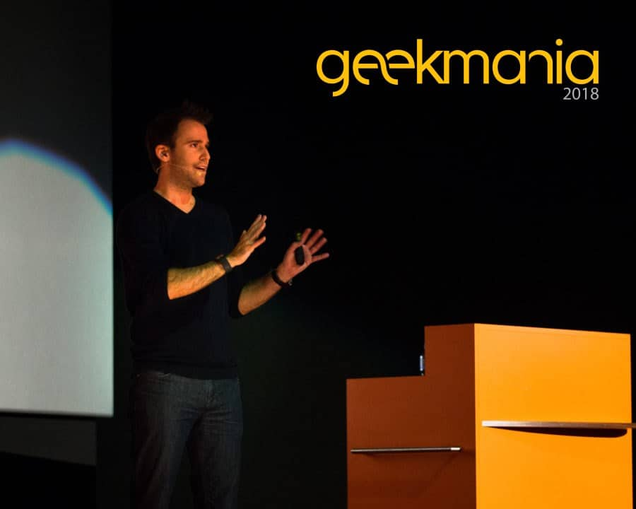 Thomas Maurer Speaking at Geekmania