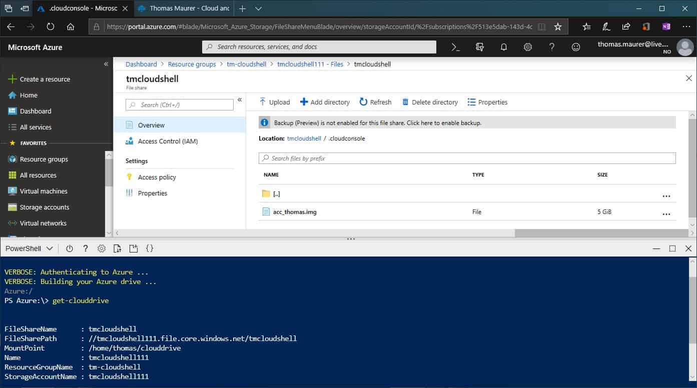 Mastering Azure with Cloud Shell - Thomas Maurer