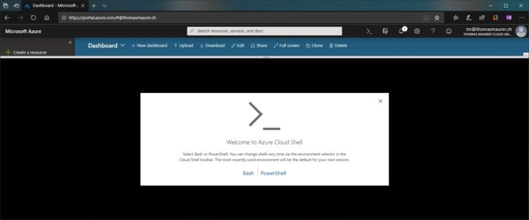 Getting Started with Azure Cloud Shell
