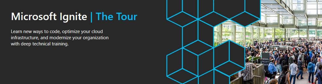 Microsoft Ignite The Tour