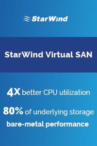 Starwind Virtual SAN