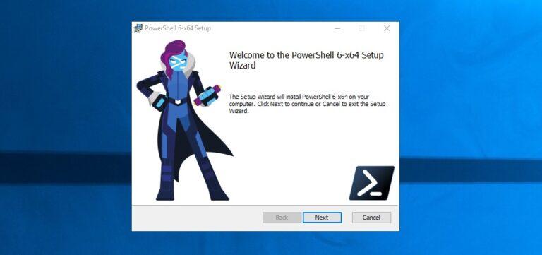 Install PowerShell 6