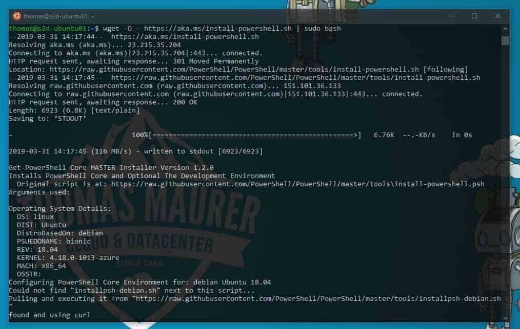 Setup PowerShell SSH Remoting in PowerShell 6 - Thomas Maurer