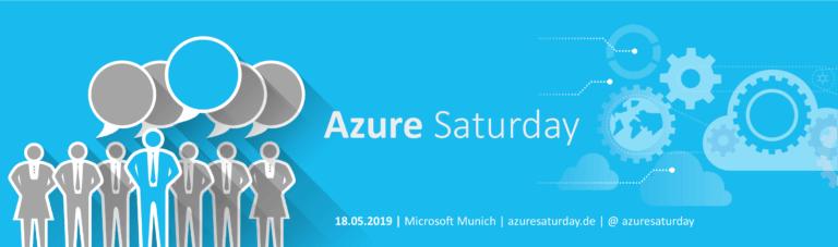 Azure Saturday 2019 Munich