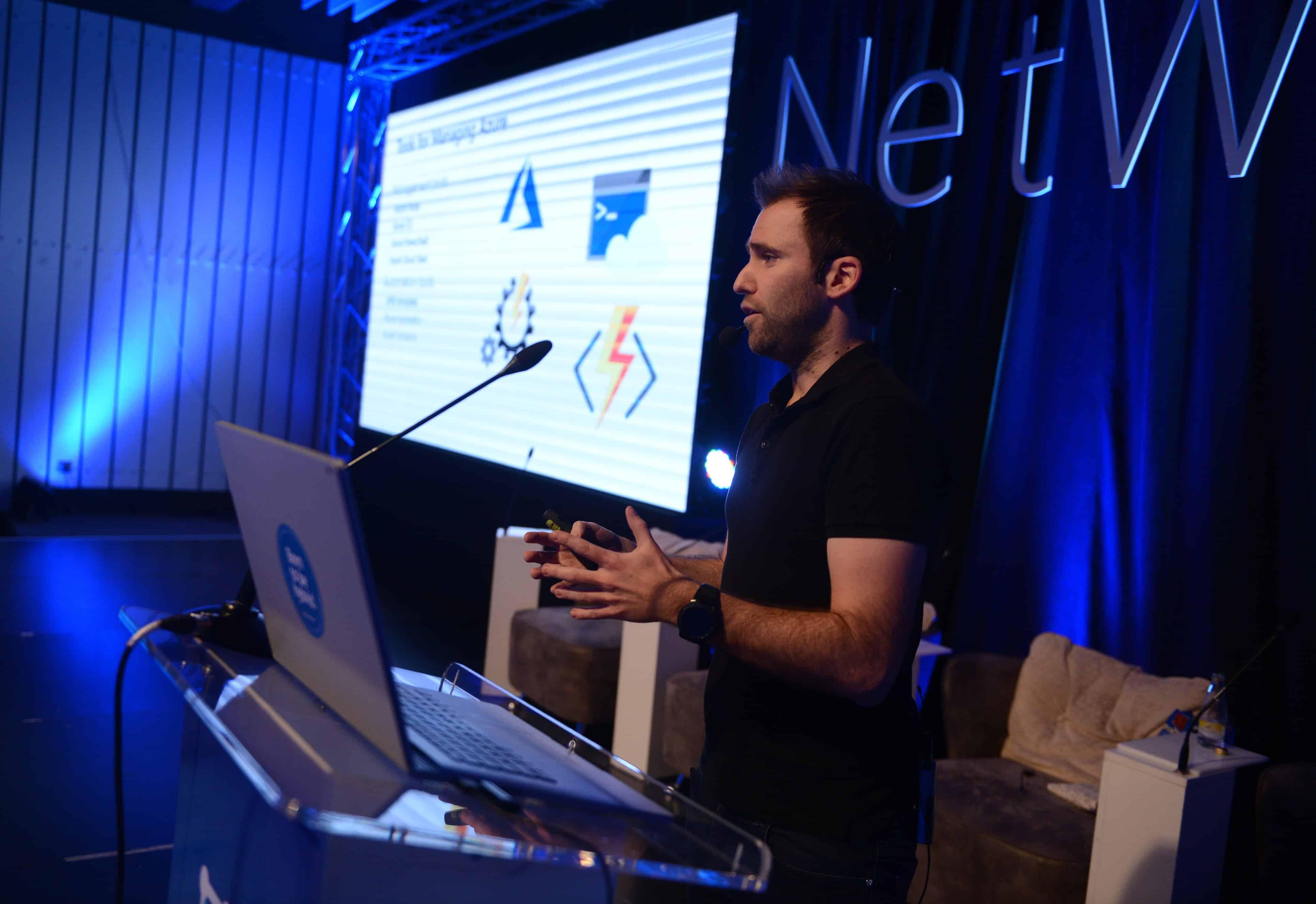 Thomas Maurer speaking Microsoft Network 9
