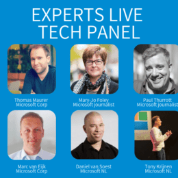 Experts Live Netherlands 2019 - Tech panel
