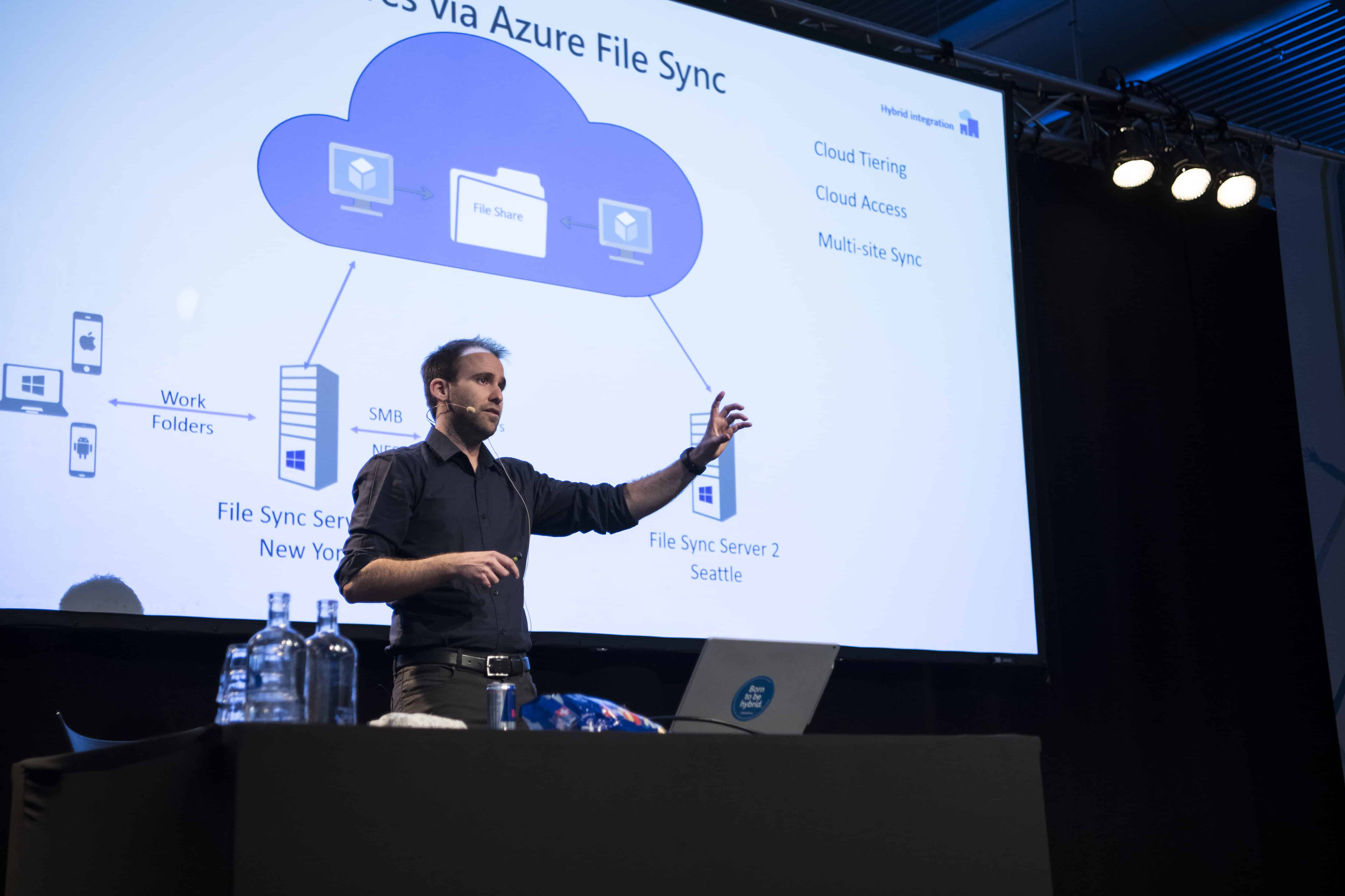 Experts Live Presenting Azure file Sync